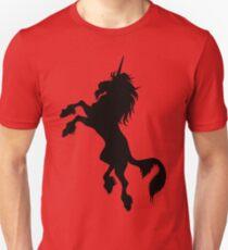 Black Unicorn by Cheerful Madness!! Unisex T-Shirt
