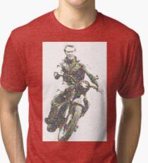 Steve McQueen - Digital Tri-blend T-Shirt