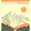 MOUNT RAINIER NATIONAL PARK by JazzberryBlue