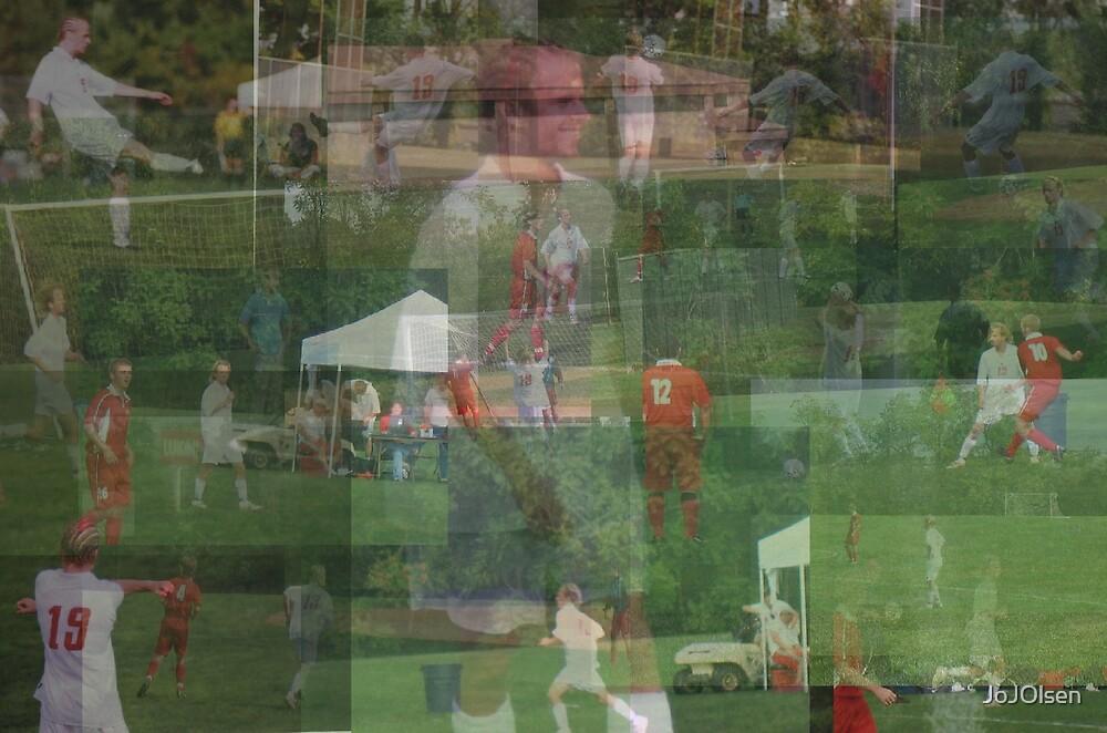 Soccer Collage by JoJOlsen