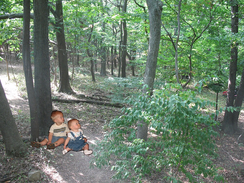 Baby's lost in woods by JoJOlsen