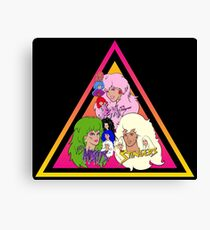 Jem and the Holograms + The Misfits meet The Stingers! Canvas Print
