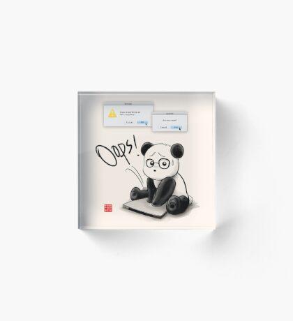 IT Panda Acrylic Block