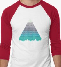 Many Mountains Men's Baseball ¾ T-Shirt