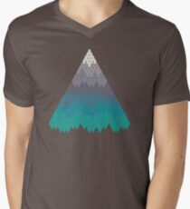 Many Mountains Men's V-Neck T-Shirt
