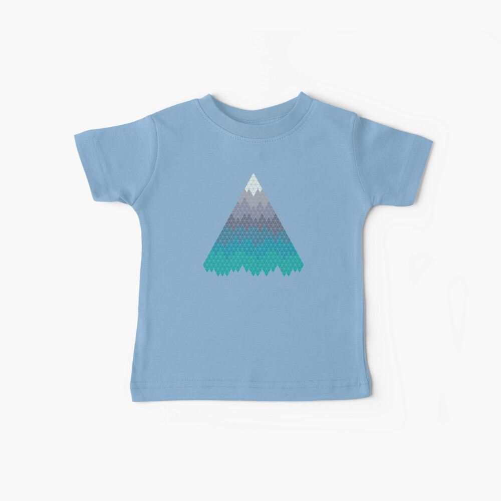Many Mountains Baby T-Shirt
