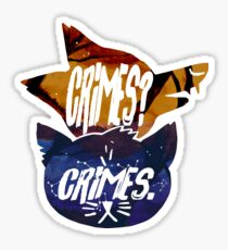 Crime Buddies Sticker