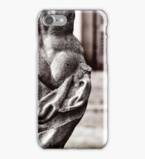 Back statue iPhone Case/Skin
