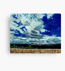 Clouds over the Plains Canvas Print