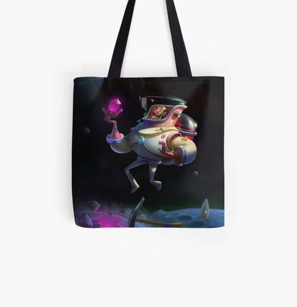 Space Geologist All Over Print Tote Bag