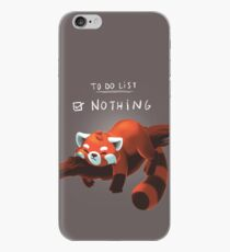 Red panda day iPhone Case