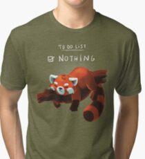 Red panda day Tri-blend T-Shirt