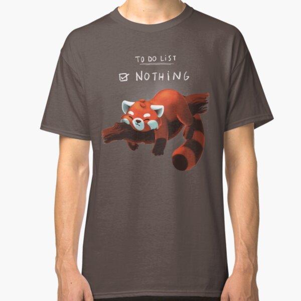 Red panda day Classic T-Shirt