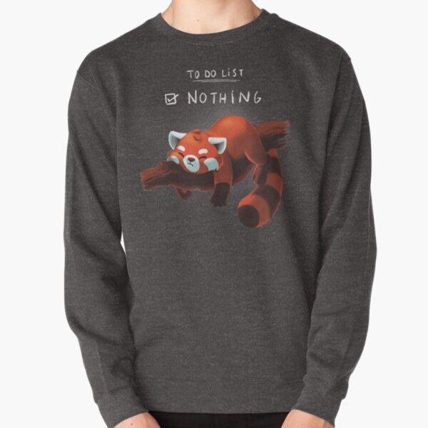 Red panda day Pullover Sweatshirt