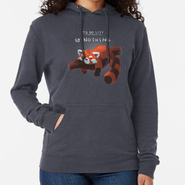 Red panda day Lightweight Hoodie