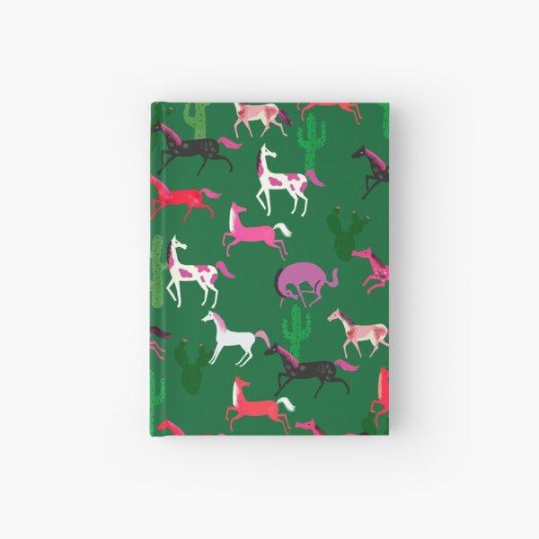 Wild horses pattern Hardcover Journal