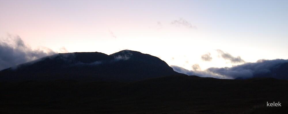 Sunset on Skye by kelek