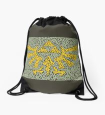 "The Triforce In ""Zelda"" the Video Game Drawstring Bag"