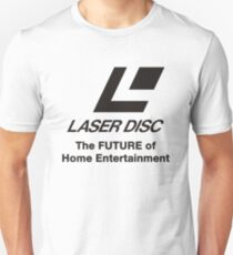 LASERDISC - THE FUTURE Unisex T-Shirt