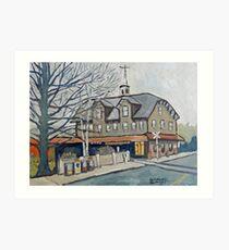Lambertville Station Art Print