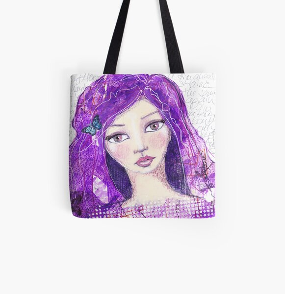 The universe within Allover-Print Tote Bag