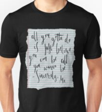 Dear Evan Hansen- Sincerely Me Unisex T-Shirt