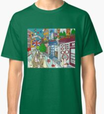 Bunnies in London Carnaby Street Classic T-Shirt