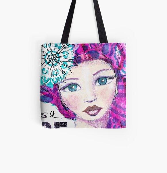I choose peace Allover-Print Tote Bag