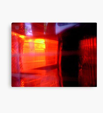 Flashing Reds Canvas Print