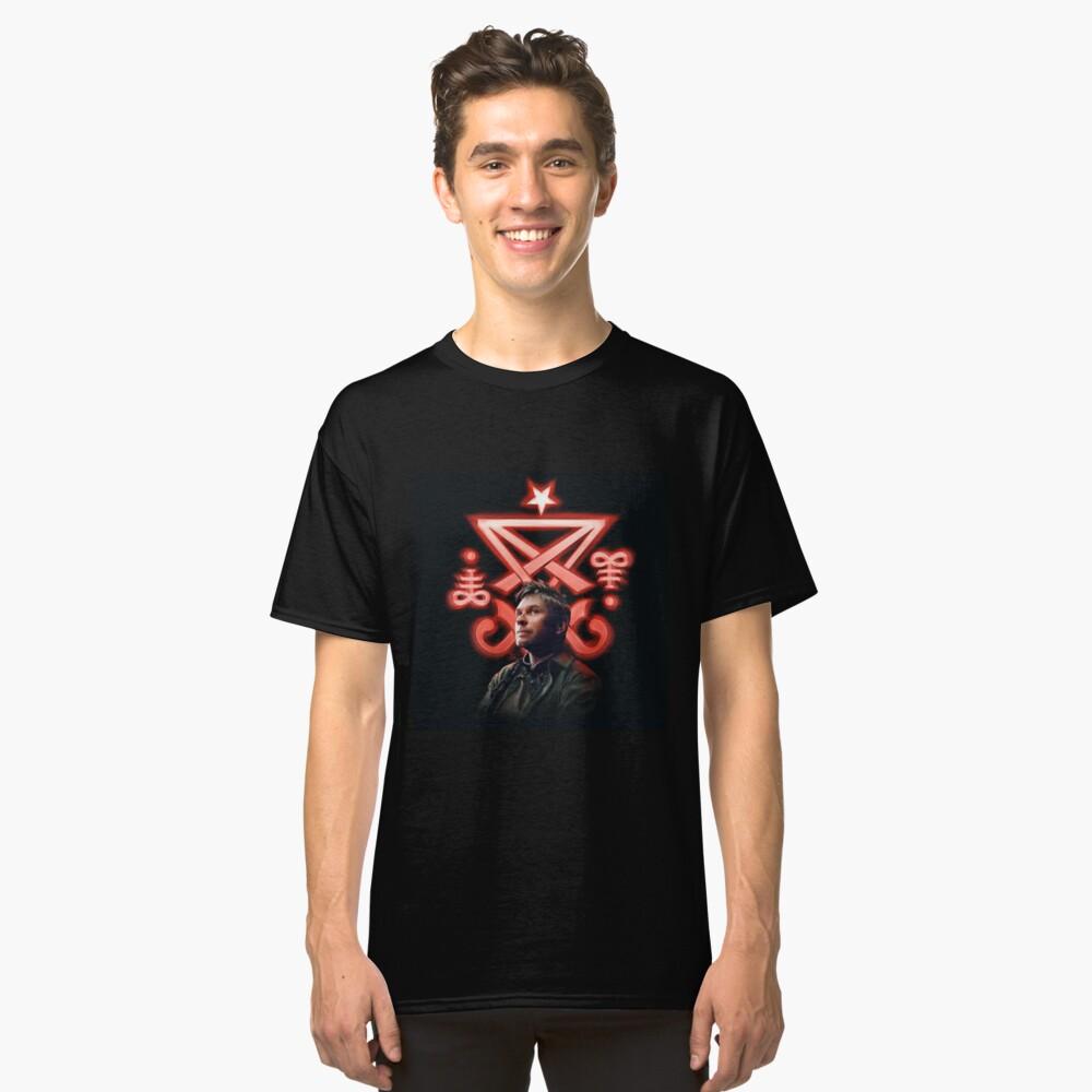 Lucifer Supernatural Digital Painting Classic T-Shirt