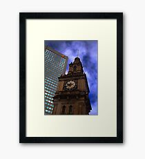 Architecture in Melbourne Framed Print
