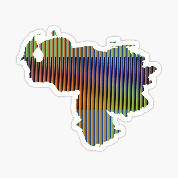 Venezuela Cruz Diez Pegatina
