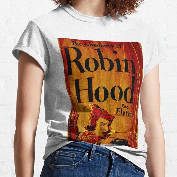 ROBIN HOOD; Vintage Rare Movie Poster Print Classic T-Shirt