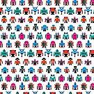 Robots fabric by Marco Recuero