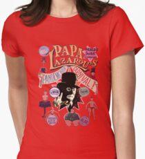 Papa Lazarou's Pandemonium Carnival! Womens Fitted T-Shirt