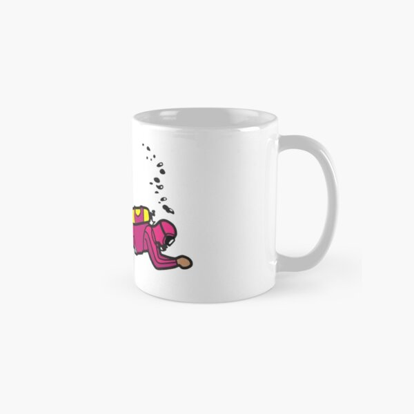Pink Diver - Trim & Position Classic Mug
