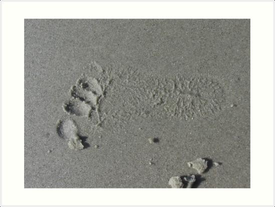 Footprint of my Heart by shutterbug3070