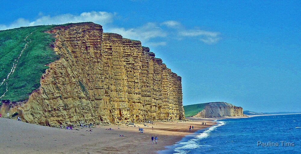 WEST BAY DORSET UK by Pauline Tims