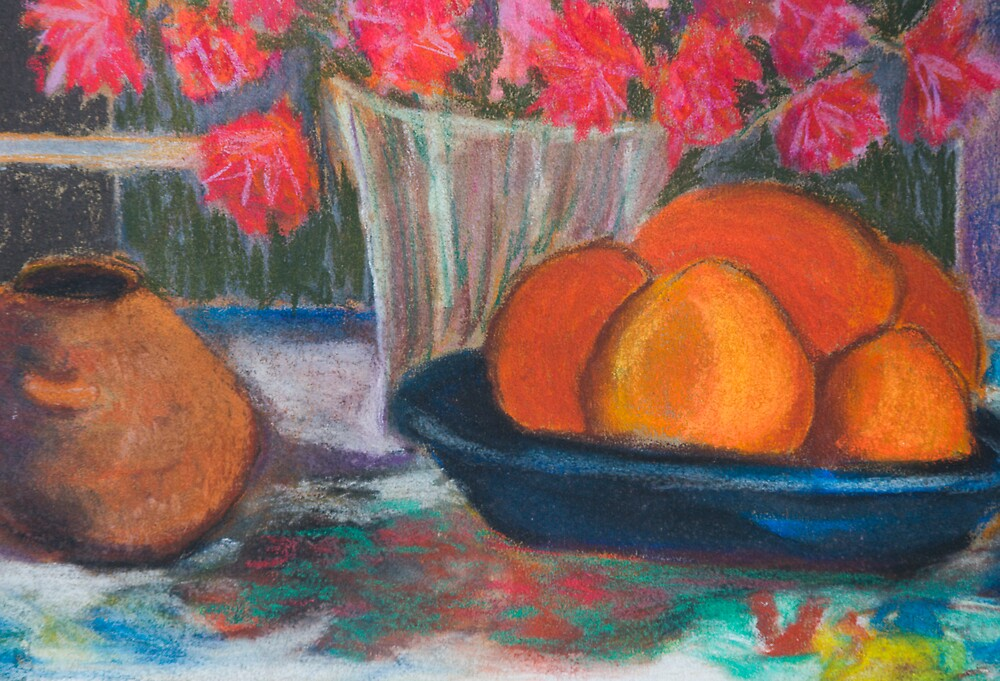Persimmons by Linda J Armstrong