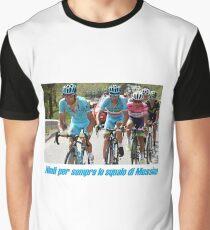 Nibali per semper lo squalo di Messina Graphic T-Shirt