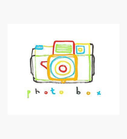 photo box Photographic Print