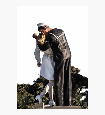 The Kiss That Made History Photographic Print