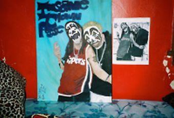 Insane Clown Posse Canvas by hallucingenic