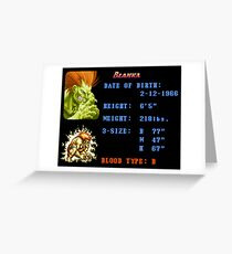 Electric Stats  Greeting Card
