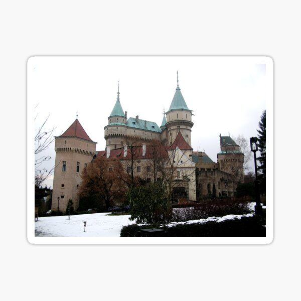 Bojnice castle Sticker