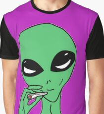 Kush Alien Graphic T-Shirt