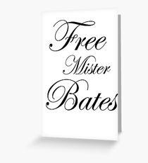 Free Mister Bates Greeting Card
