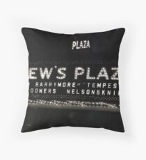Nelson & Knight at Loew's Plaza Throw Pillow
