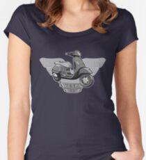 DoubleGood Vespa GTS Women's Fitted Scoop T-Shirt