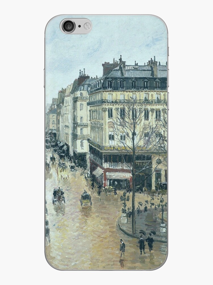 Camille Pissarro - Rue Saint-Honore - Afternoon, Rain Effect, 1897 by artcenter